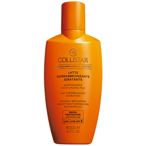 Collistar Sun Supertanning Moisturizing Milk SPF 6